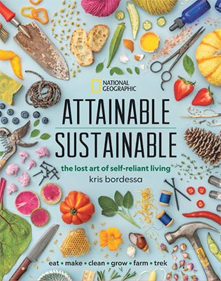 Book cover of Attainable Sustainable, by Kris Bordessa