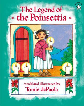 children's Christmas book cover: The Legend of the Poinsettia
