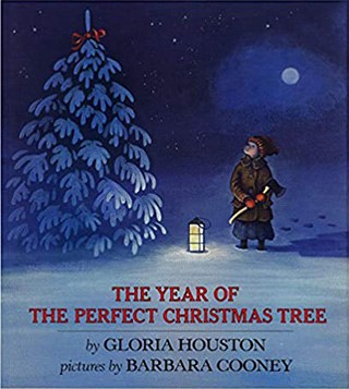 kid's holiday book cover: The Year of the Perfect Christmas Tree